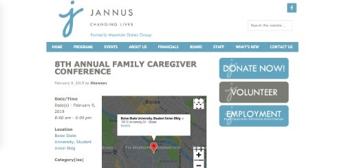 8th Annual Family Caregiver Conference