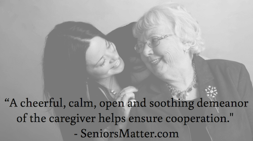 A cheerful calm open and soothing demeanor - SeniorsMatter