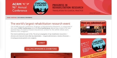 ACRM 96th Annual Conference