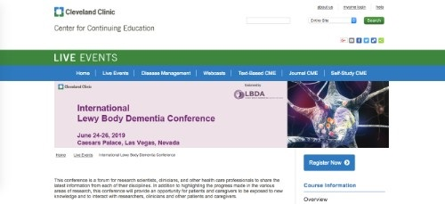 International Lewy Body Dementia Conference