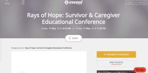 Rays of Hope Survivor and Caregiver Educational Conference