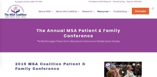The Annual MSA Patient and Family Conference