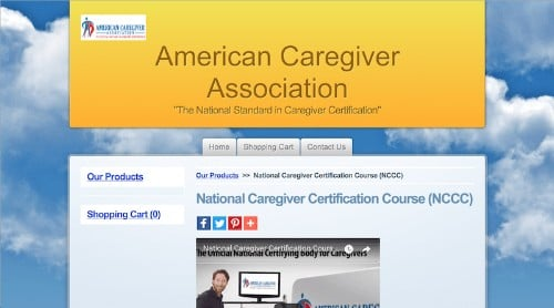 American Caregiver Association-National Caregiver Certification Course NCCC-min