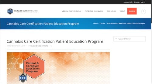 Cannabis Care Certification Patient Education Program-min