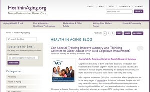 Health in Aging