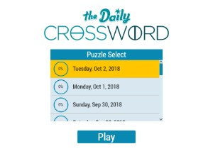 Daily Crossword-min