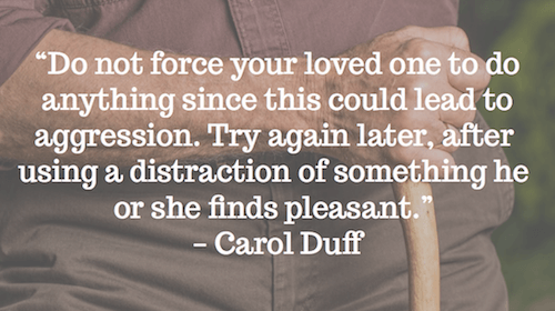 Do not force - Carol Duff