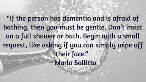 If the person has dementia - Marlo Sollitto