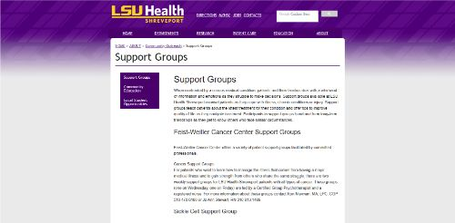 LSU Health Shreveport - Parkinsons Support Group-min
