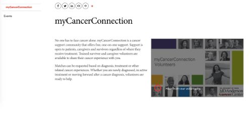 47myCancerConnection