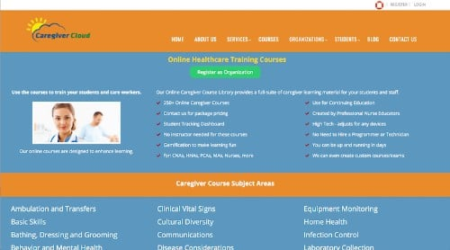 Caregiver Cloud-Online Healthcare Training Courses-min