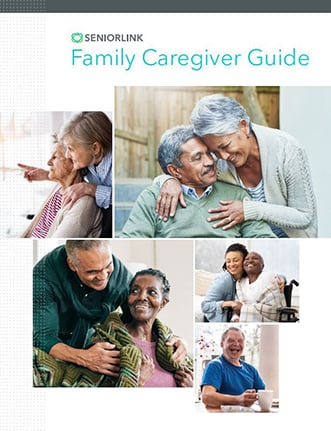Photo of Seniorlink's Family Caregiver Guide